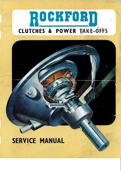 Rockford Clutches & Power Take-offs Service Manual : The Saab V4
